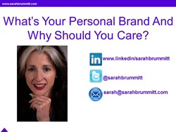 What's Your Personal Brand and Why Should You Care?